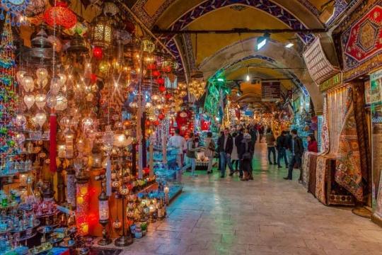 بازاری در ترکیه