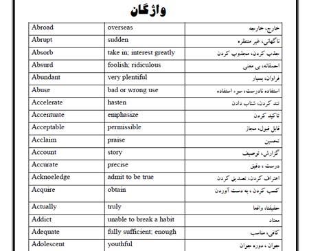 لغات من