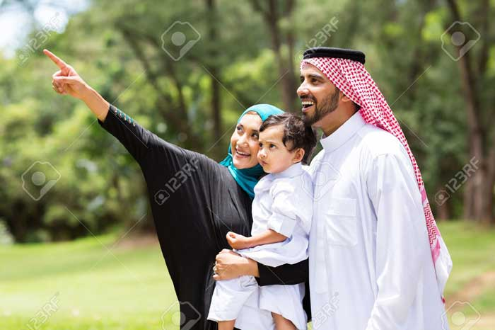 cool arab family