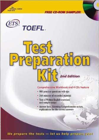 کتاب رسمی ETS آمادگی آزمون تافل