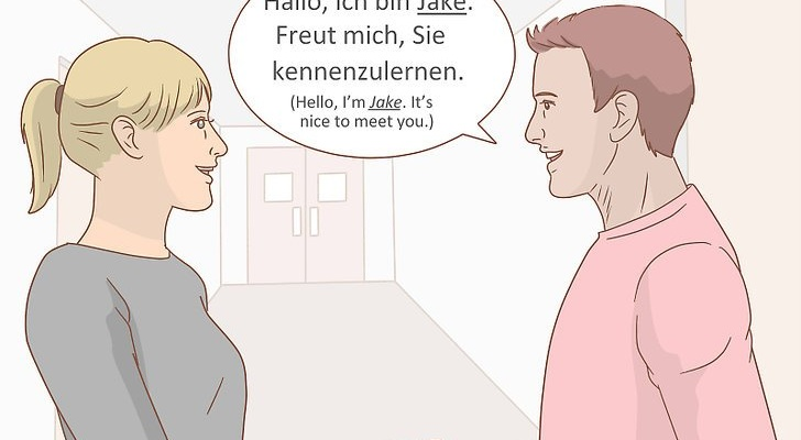 introduce yourself in german