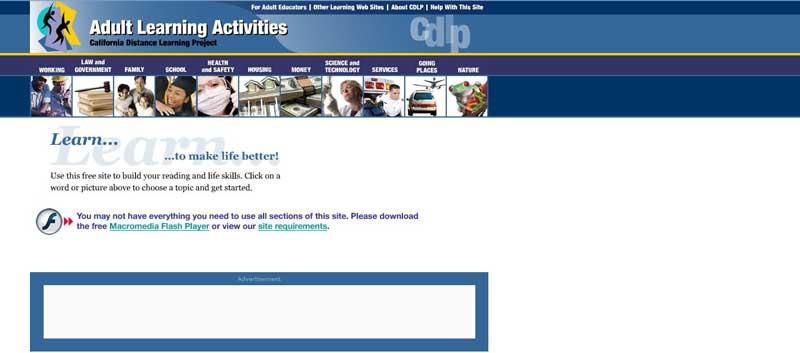 تصویری از وبسایت cdlp