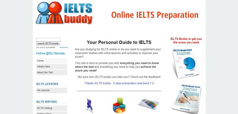 وب سایت ielts-buddy