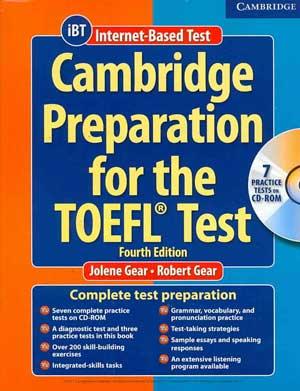 کتاب cambridge preparation برای تافل