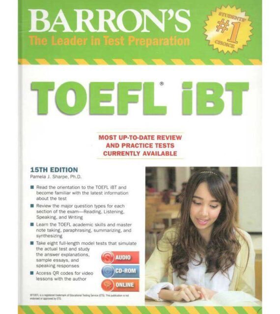 toefl ibt 15th edition