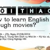 پوستری برای نشان دادن یادگیری از طریق فیلم و سریال
