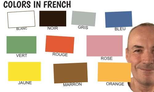Colors-in-french