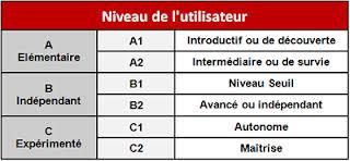 سطوح زبان فرانسه