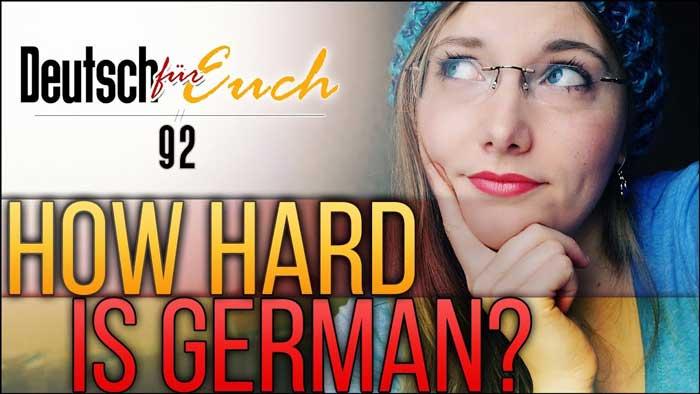 آیا یادگیری آلمانی سخت است؟