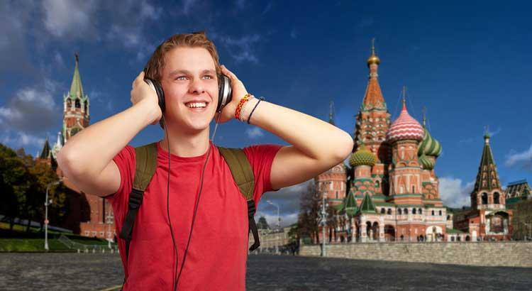 یادگیری زبان روسی در سفر