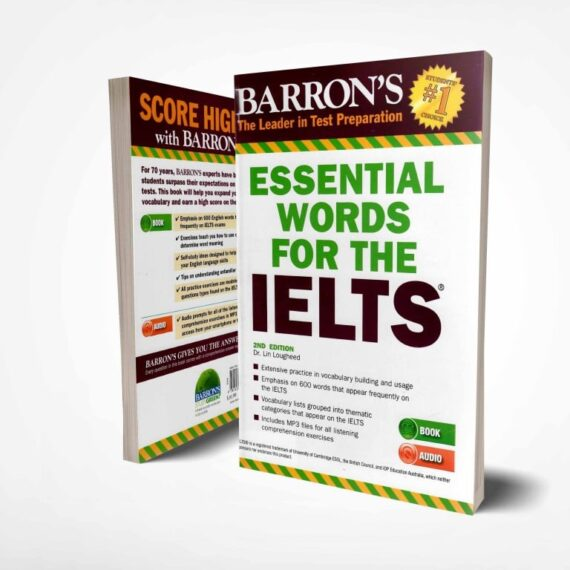 خرید کتاب واژگان ضروری آیلتس Barron's essential words for the IELTS