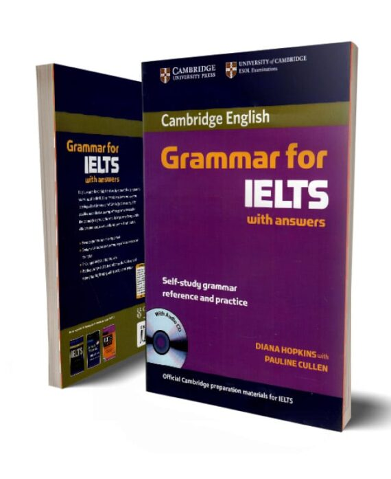 کتاب گرامر زبان آیلتس Cambridge Grammar For IELTS