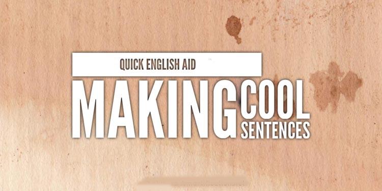 جمله سازی انگلیسی