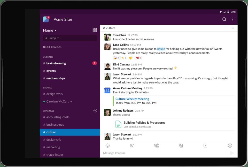 teacher parent communication app