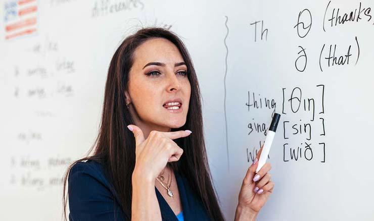معلم انگلیسی