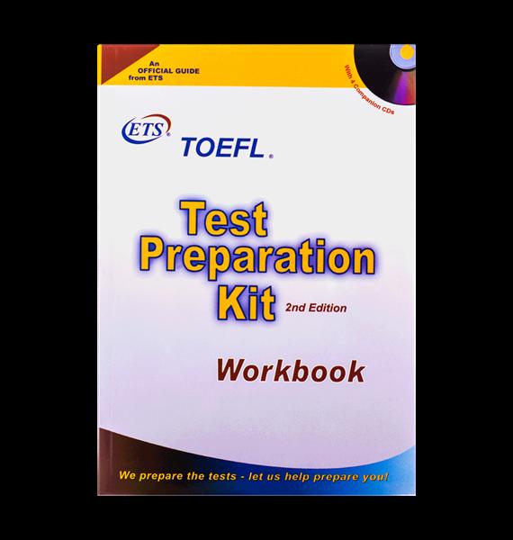 کتاب TOEFL Test Preparation Kit به همراه CD