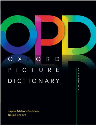 کتاب دیکشنری Oxford Picture Dictionary ویرایش سوم