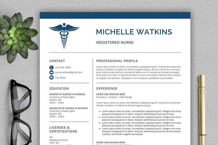 سی وی پزشکی