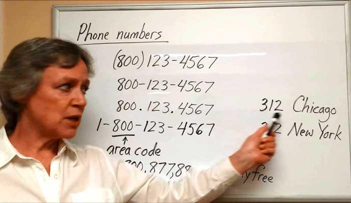 شماره تلفن
