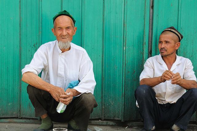 uyghur muslim chinese men