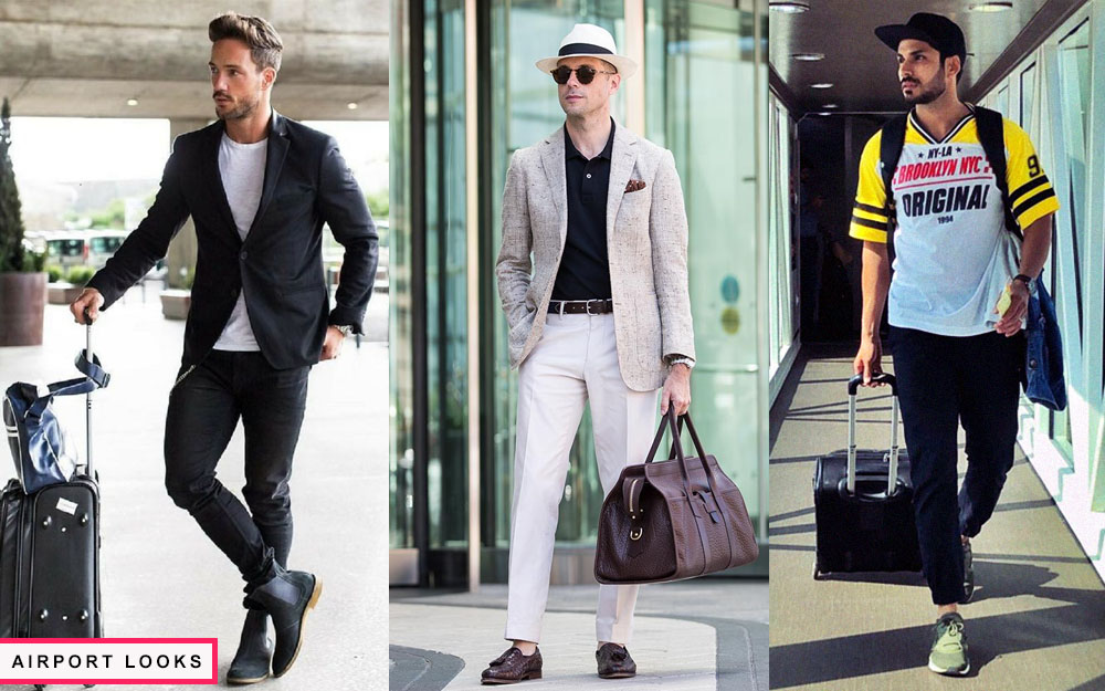 what to wear while traveling airport looks