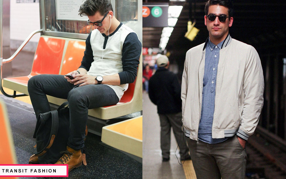 what to wear while traveling subway
