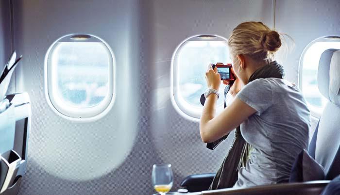 اولین سفر با هواپیما