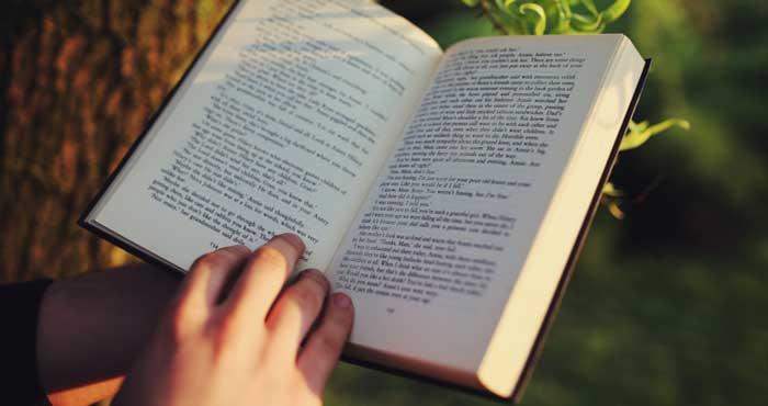در حال مطالعه کتاب انگلیسی